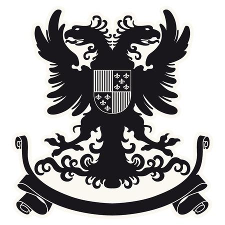 The image Heraldic coat of arms Stock Vector - 18001224