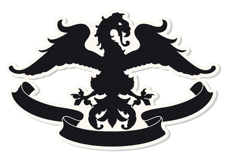 The image Heraldic coat of arms Stock Vector - 18087923