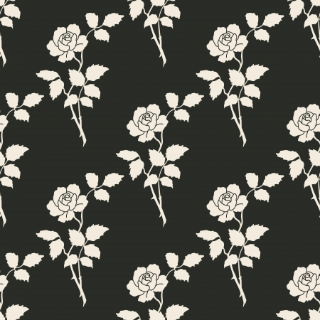 The image  Seamless Floral Background Stock Vector - 18256196
