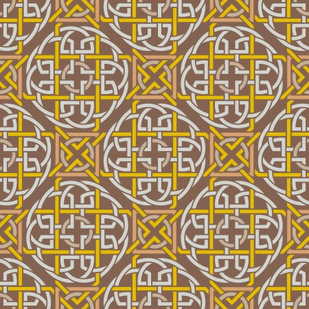 keltische muster: Das Bild Background seamless celtic pattern