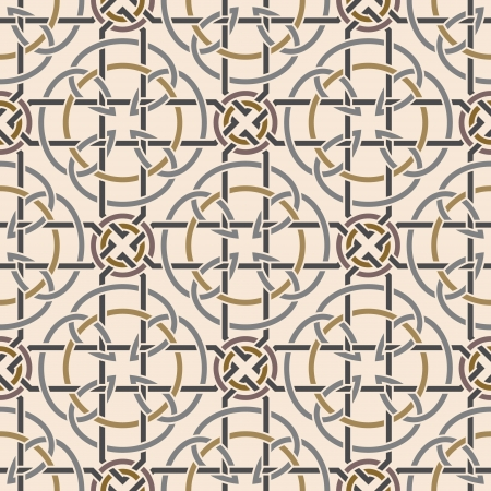 Background seamless celtic pattern Vector