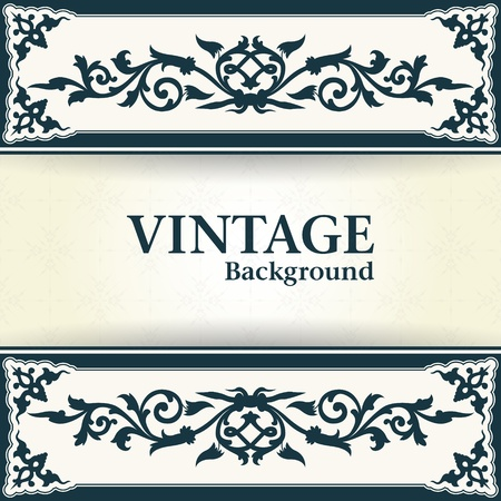 soiled: The vector image Vintage background