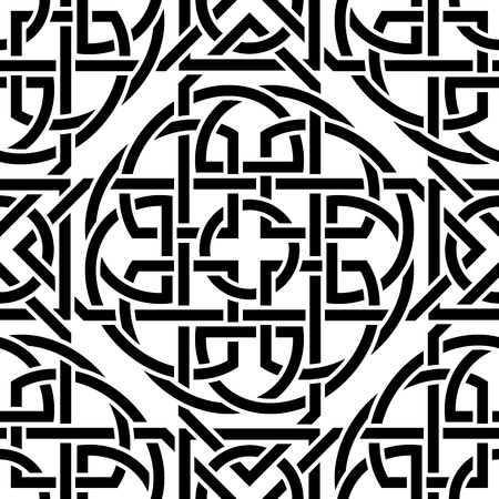 The image Celtic seamless pattern Vector