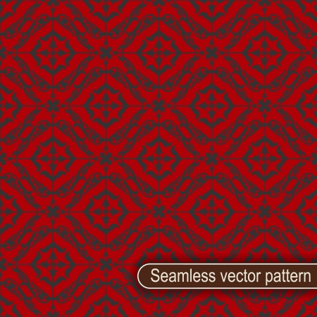 The vector image Seamless vector pattern Vector