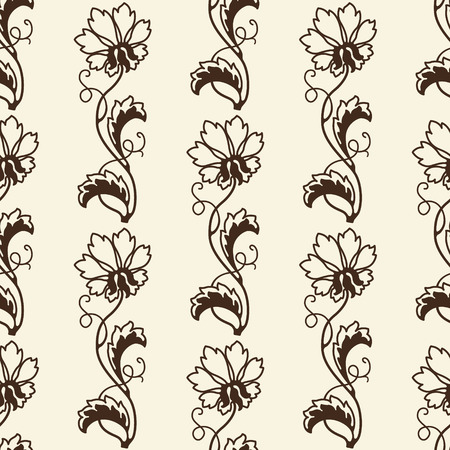 The image Seamless Floral Background