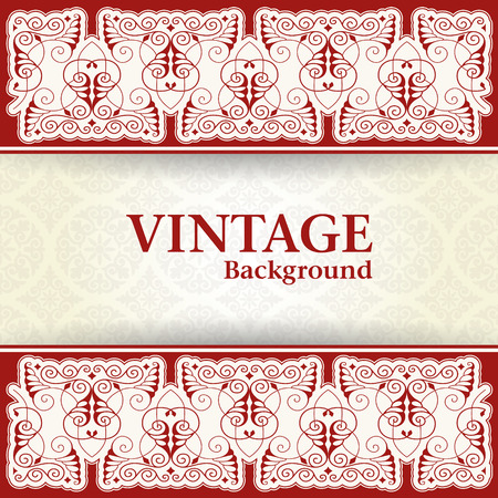 constant: The vector image Vintage background
