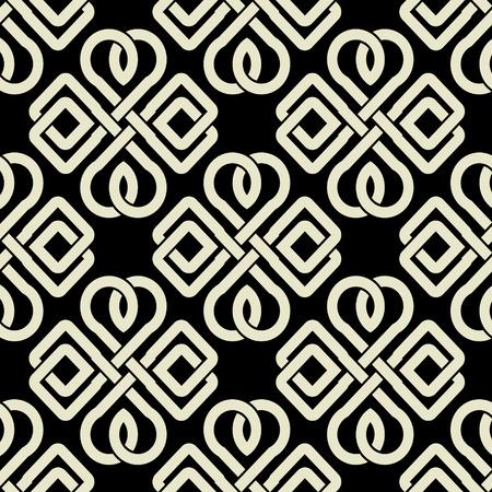 keltische muster: Die Vektor-Bild Hintergrund nahtlose keltische Muster