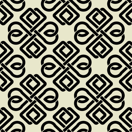 keltische muster: The vector image Background seamless celtic pattern