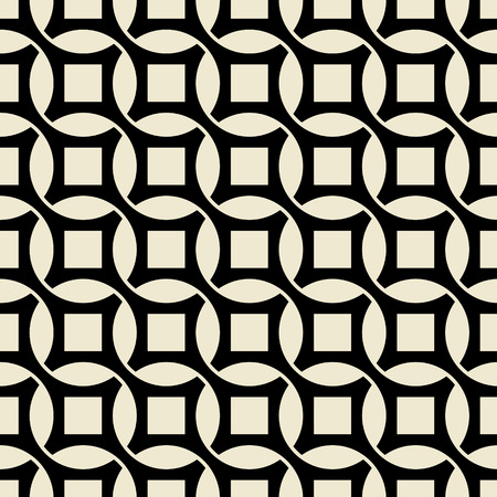 The vector image of Vintage wallpaper pattern seamless background