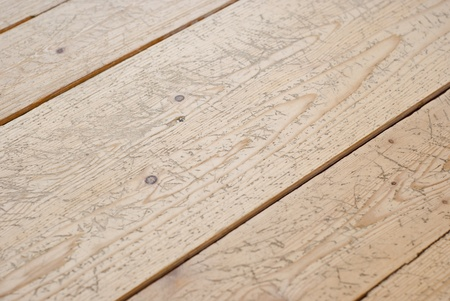 Wooden Floor Texture With Scratches And Grooves The Parquet Stock