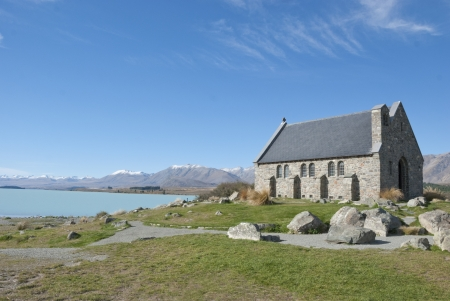 good shepherd: Church of the Good Shepherd, Lake Tekapo, New Zealand