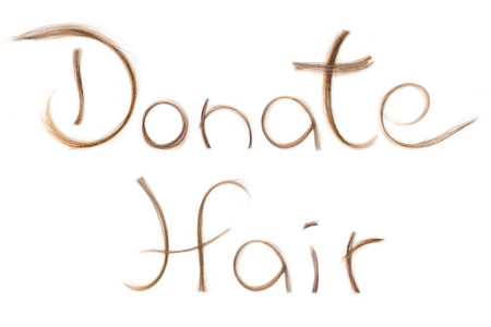 blonde streaks: Hair donation for cancer treatment help wig