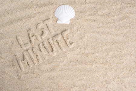 minute: Last minute holiday vacation