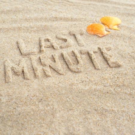 Last minute beach trip