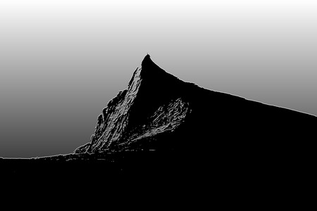South peak 3,922m Mount Kinabalu Sabah Borneo Stock Photo
