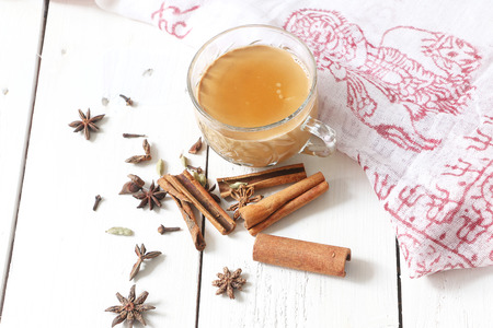nepali: Nepali masala tea, dud chyia