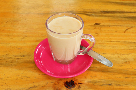 Nepali masala tea or dudh cha Stock Photo