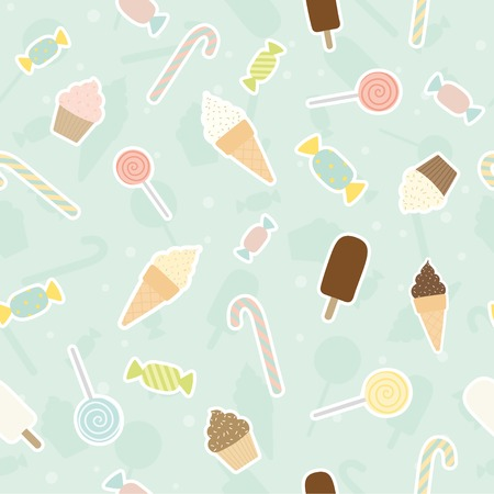 Sweet pattern. Vector EPS 10 seamless pattern