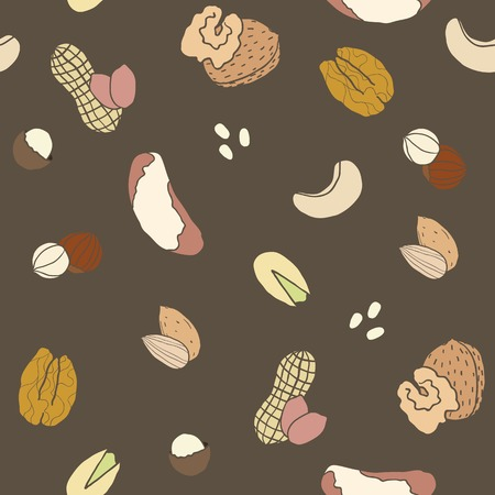 Different nuts pattern.