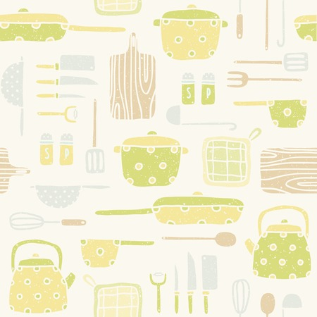 Vector EPS 10 hand drawn seamless pattern Vector