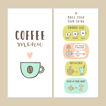 Coffee bar menu template make your own drink can be used for coffee bar menu template make your own drink can be used for your cafe maxwellsz
