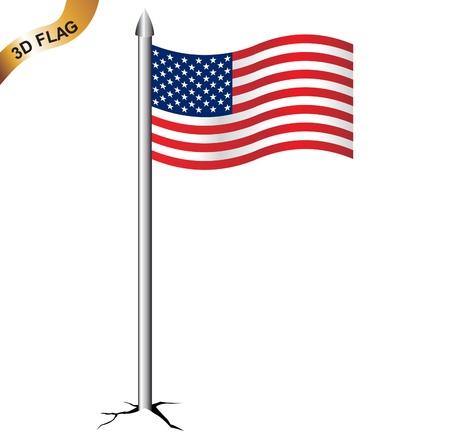 bred: Bandera americana