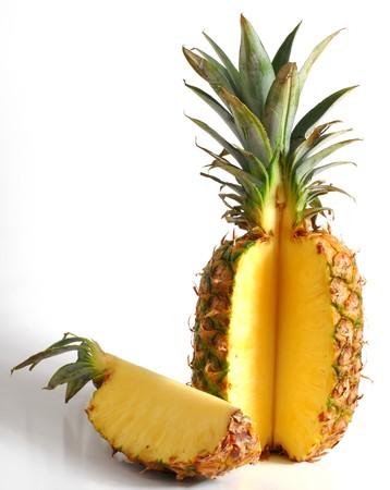 Pineapple studio isolated on white background