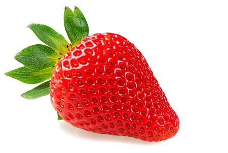 Strawberry studio isolated on white background Stock Photo