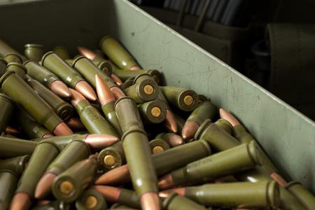 amendment: Ammunition 5.56 mm in box  bullets