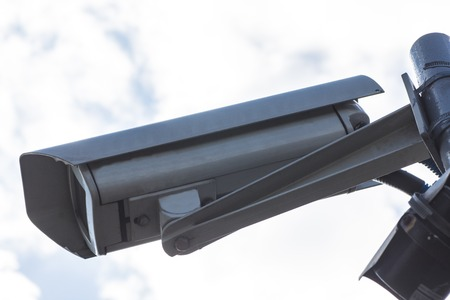 oversee: camera mounted on a pole to oversee