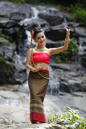 bailarina: Bailar�n Tailandia Concepto Foto de archivo
