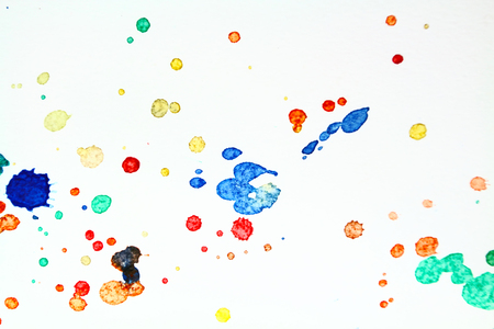 orientation: Watercolor paper fluttering down Orientation.