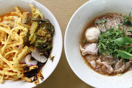 soi: thai noodles and Khao soi