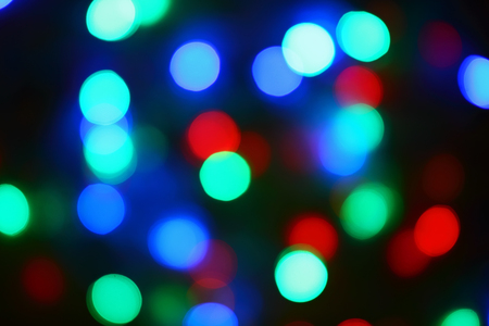 this is de-focused christmas lights background