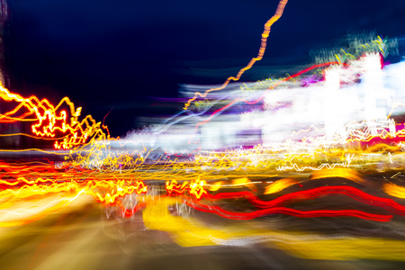 traffic light and movement