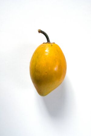 The yellow fruit in the deep forest tastes like Foto de archivo