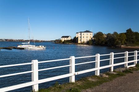 finland: island in Helsinki, Finland