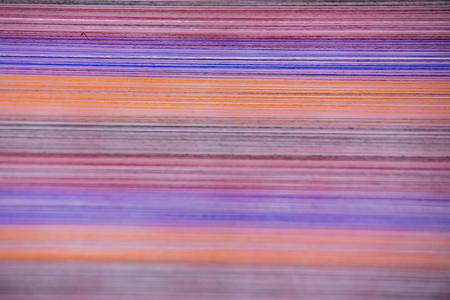 Colourful silk thread,Thailand Stock Photo