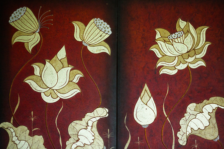家の装飾の絵画 写真素材