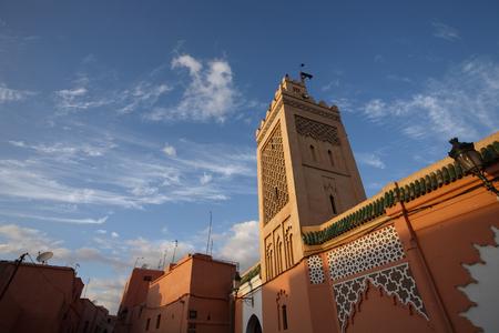 カサブランカ, モロッコの日中は青いモスク