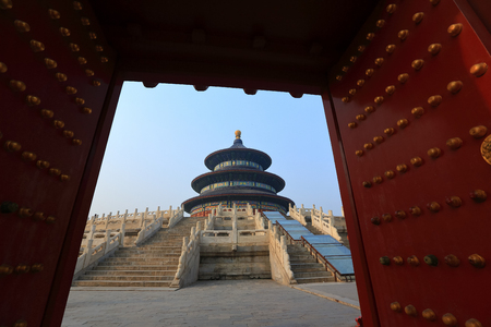 Temple of Heaven in Beijing 写真素材