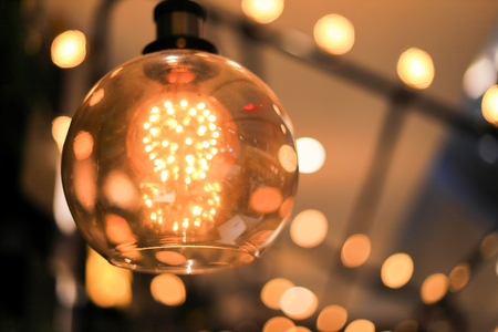 Decoration antique edison led light style filament light bulbs ,turn on the light , color vintage style, focus only led light,Thailand