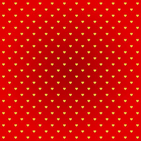 yellow heart: yellow heart red background