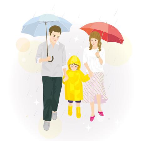 put up: put up an umbrella family