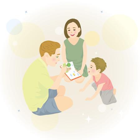 illust: family Illustration