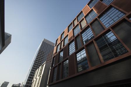 comité d entreprise: FTA Street Tianjin Binhai New Area Banque d'images