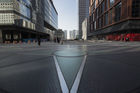 comit� d entreprise: Chinas Tianjin Binhai New area yujiapu FTA Street