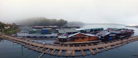 panorama view: Vista panoramica in Thailandia Archivio Fotografico