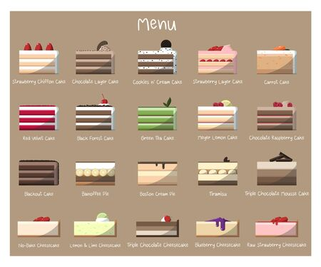 We have multiple flavors of cake and offer to suit everyones taste Illustration