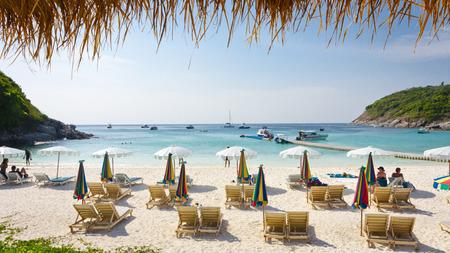 arena blanca: cielo bueatiful mar agradable playa de arena blanca